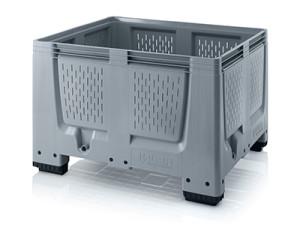Plastmasas konteiners ar ventilaciju