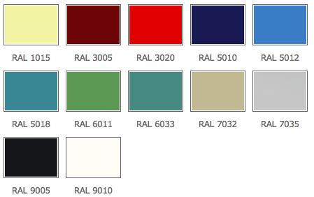 RAL_palete_standarta