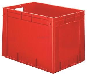 VTK-600_420-0 plastmasas kaste sarkana